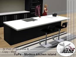 second kitchen island second marketplace yupe modern kitchen island black