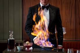 the grill is the city s only four star ode to the past eater ny and back to the dining room where in the case of the grill an open flame nearly singes your eyebrows in a tableside display for cherries flambee