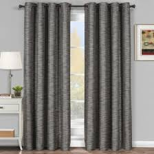 Silver Black Curtains Interior Gray Curtains The Room More Beautiful Fileove
