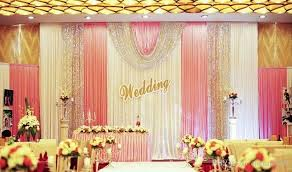 wedding backdrop on stage 3m 6m wedding backdrop valance swag party background cloth curtain