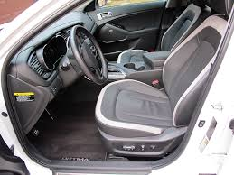 2011 Kia Optima Interior 2011 Kia Optima Sx Turbo Test Drive