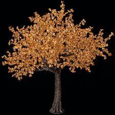 Tree Led Lights 8 Maple Leaf Tree Warm White 5mm Led Lights