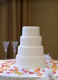 simple wedding cake designs quilted wedding cake design