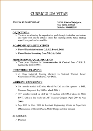 How To Type Up A Resume Type A Resume Free Resume Example And Writing Download