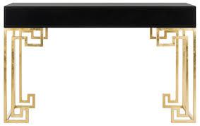modern black desks sfv3528b safavieh