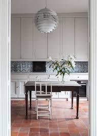 tile in dining room now trending terracotta tile floors coco kelley coco kelley