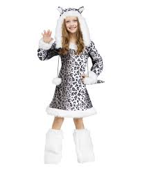 Halloween Costumes For Kids Girls Girls Snow Leopard Costume Girls Costume