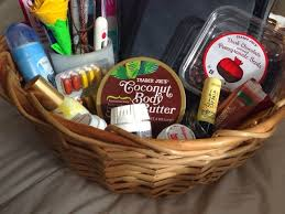 hospital gifts a by the bed basket a great gift idea for someone who is sick