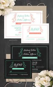 wedding invitations psd modern wedding invitation psd template by carouselleriecreative