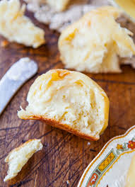 Make Ahead Dinner Party - no knead make ahead dinner rolls with honey butter averie cooks