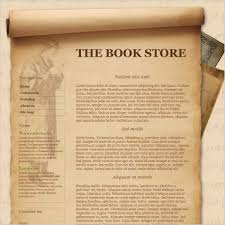 the book store template free website templates in css html js