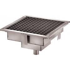 materiels de cuisine caniveau de sol cuisine professionnelle sortie horizontale l 200