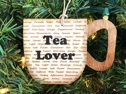 tea ornament tea lover ornament tea ornament tea