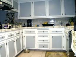 Colorful Kitchen Cabinets Ideas Two Tone Painted Kitchen Cabinet Ideas Large Size Of Kitchen Tone