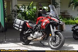 benelli motorcycle first impression new benelli trk 502 adventure bike