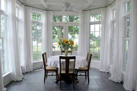 dining room window treatments ideas sunroom window treatments ideas