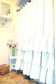 Curtains With Ruffles White Ruffle Curtains Light Pink Ruffle Curtains White Ruffle