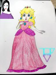 today i had fun drawing peach star of the nintendo games u2014 steemit