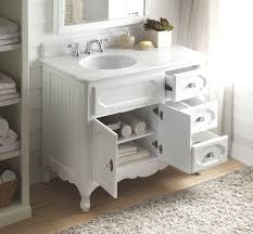 cottage style bathroom vanity 42 42