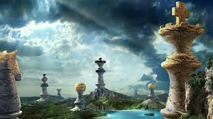 3d landscape fantasy chess pieces picture nr 61010