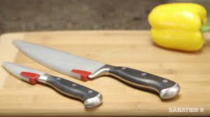 kitchen knives sabatier sabatier edgekeeper sheaths by lifetime brands youtube