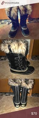 s sorel joan of arctic boots size 9 sorel joan of arctic boots s size 9 black sorel waterproof