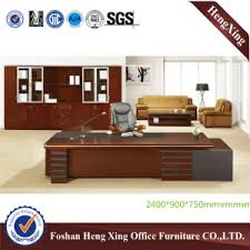 Office Desk Solid Wood Office Table Hx Rd6018 Manufacturers Factory And Suppliers Heng