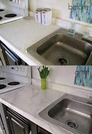 Kitchen Marble Countertops by Best 10 Faux Marble Countertop Ideas On Pinterest Faux Granite