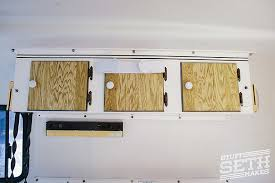Trailer Kitchen Cabinets Before U0026 After Scamp Travel Trailer Remodel U2013 Boler Casita Stuff