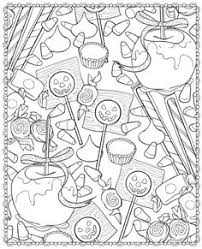 halloween treats coloring pages coloring halloween