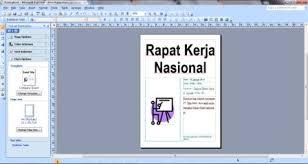 cara membuat x banner dengan publisher 4 langkah langkah pembuatan poster menggunakan microsoft office