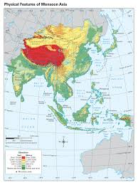 Asia Geography Map by Mrlopez U0027s World Geo Preap Assignments 2015 2016