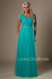 modest bridesmaid dresses turquoise tulle modest bridesmaid dresses with sleeves