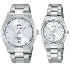Jam Tangan Alba Pasangan jam tangan alba silver original 005 alexandre christie