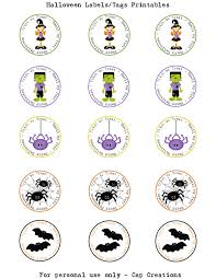 Printable Halloween Labels by Cap Creations Diy Halloween Fall Soap Favors And Printables