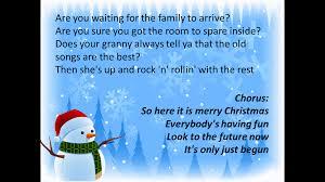 mr robbie s merry everyone lyrics and