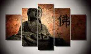 buddhist home decor frame picture buddhist buddha statue zen home decor art canvas