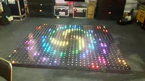 Led Floor L Qd Lights Led Floor Participate In Indian Dj Expo 2017