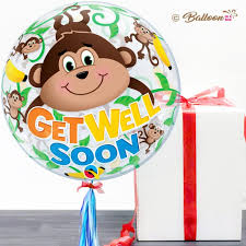 balloons get well soon get well soon balloon in a box