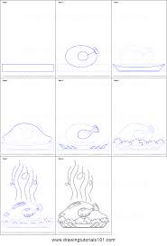 how to draw a cooked turkey printable step by step drawing sheet