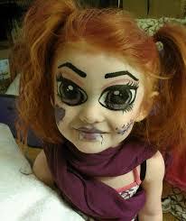 scary halloween face painting ideas