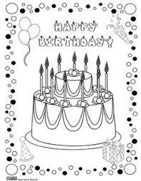 birthday coloring pages birthday card flowers diy u0026 crafts