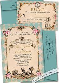 Wedding Invitation Examples Captivating Alice In Wonderland Wedding Invitation Wording 91 With