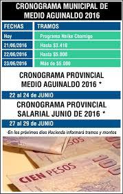 calendario de pago de medio aguinaldo 2016 diario epoca provincia y capital encaran pago de medio aguinaldo y