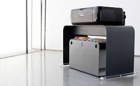 bureau imprimante meubles pour ordinateur et imprimante meuble en m tal design