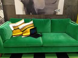 marvelous ikea green velvet sofa 48 in interior decorating with