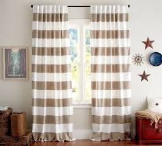 Kitchen Curtains Pottery Barn by Best 25 Horizontal Striped Curtains Ideas On Pinterest Striped