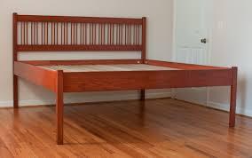 bed high platform bed frame home interior design