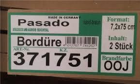 badezimmer bordre ausstattung 2 pasado bordüre sand braun 7 2x75cm fa deutsche steinzeug in