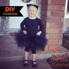 Kids Halloween Cat Costume Diy Cat Costume Tutu Tutorial Diy Cat Costume Tutu